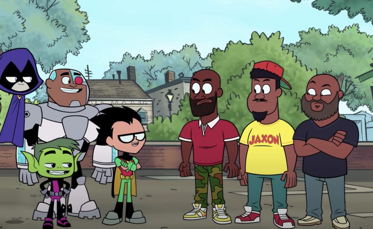 Watch De La Soul Fight Music-Eating Monster on 'Teen Titans Go!'