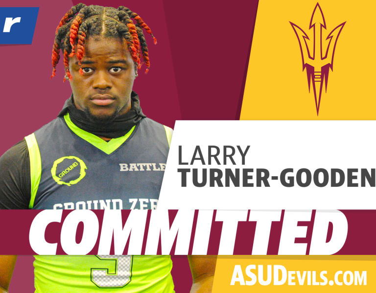 Larry Turner-Gooden on ASU pledge: Family is all I need