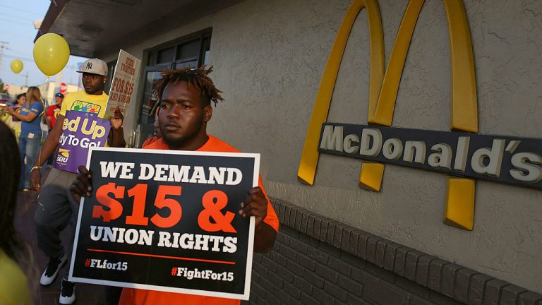 What McDonald's Shows About The Minimum Wage : Planet Money : NPR