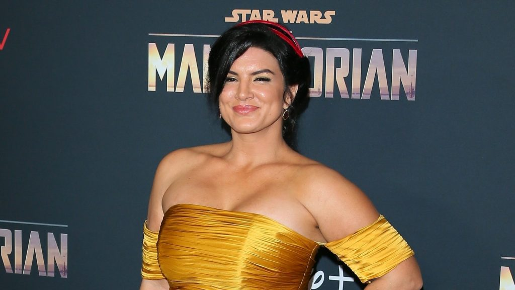 Lucasfilm Fires Gina Carano From 'The Mandalorian' Over Social Media Posts : NPR
