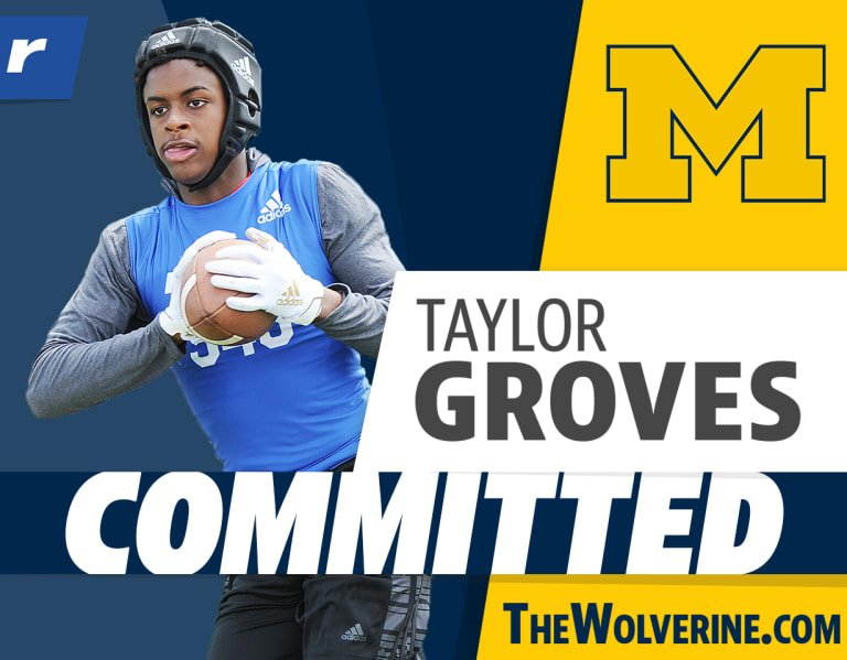 Michigan lands Tennessee four-star ATH Taylor Groves