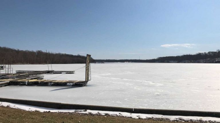 Teenage girl dies after saving younger brother when they fell in frozen lake