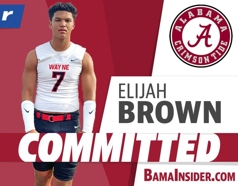 Commitment Analysis: Alabama lands TE Elijah Brown