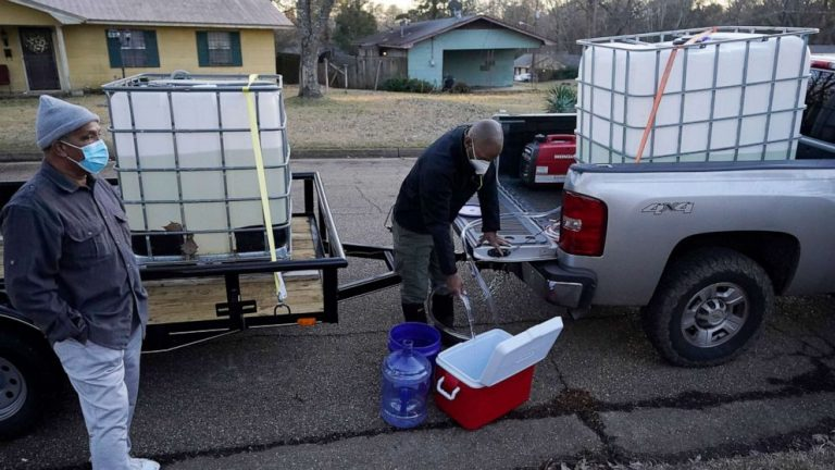 Tanker trucks, National Guard dispatched to Jackson, Mississippi, water crisis