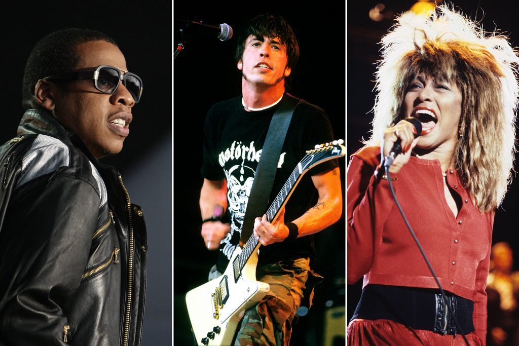 jay z dave grohl foo fighters tina turner