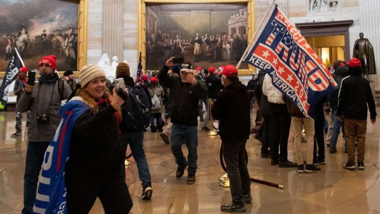 Woman arrested over Capitol riot allowed to take trip to Mexico, judge rules