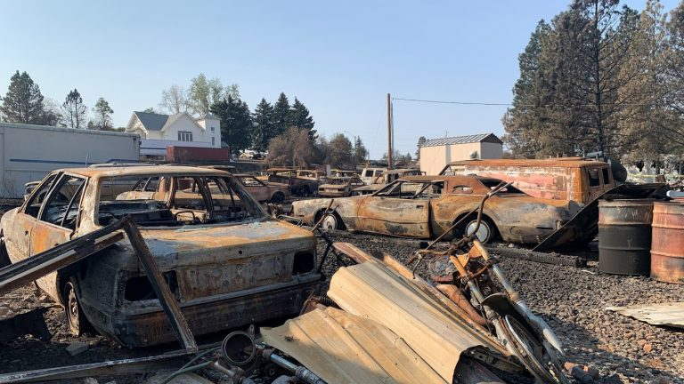 Federal Aid is Finally Coming To Washington Town Decimated By Wildfire : NPR