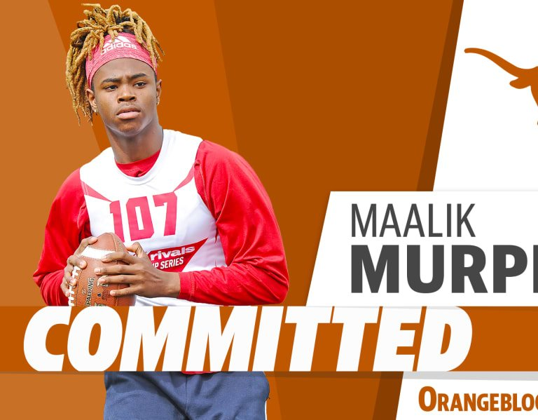 Four-star QB Maalik Murphy headed to Big 12