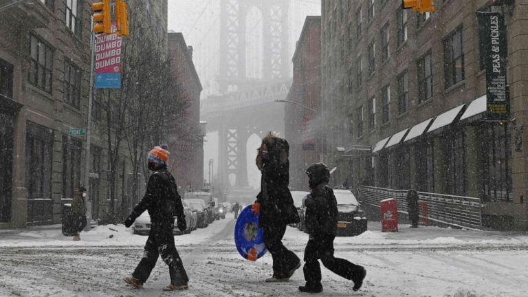 Icy, dangerous weather expected from Texas to New York