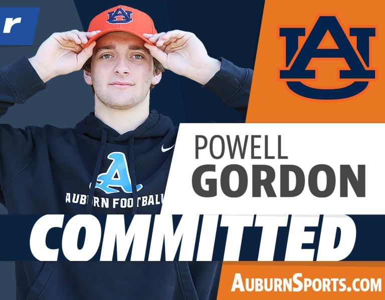 "Powell Gordon to Auburn: ""This is all like a dream coming true"""