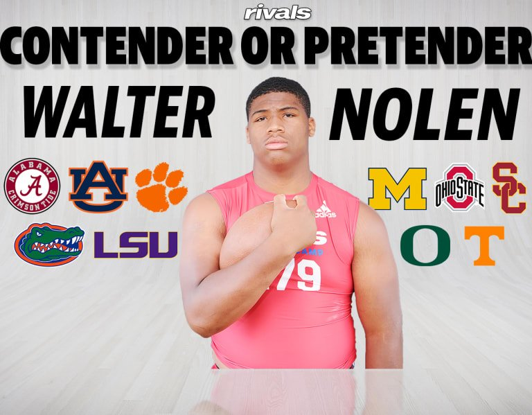 Who are contenders, pretenders for five-star Walter Nolen?