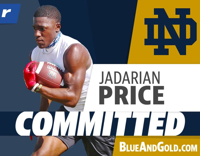 Notre Dame dips into Texas for Rivals250 RB Jadarian Price