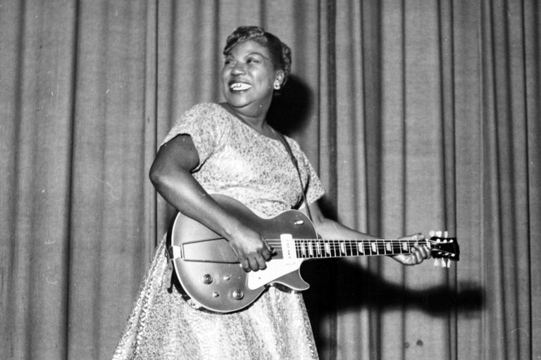 Flashback: Sister Rosetta Tharpe Stages Wedding at Griffith Stadium