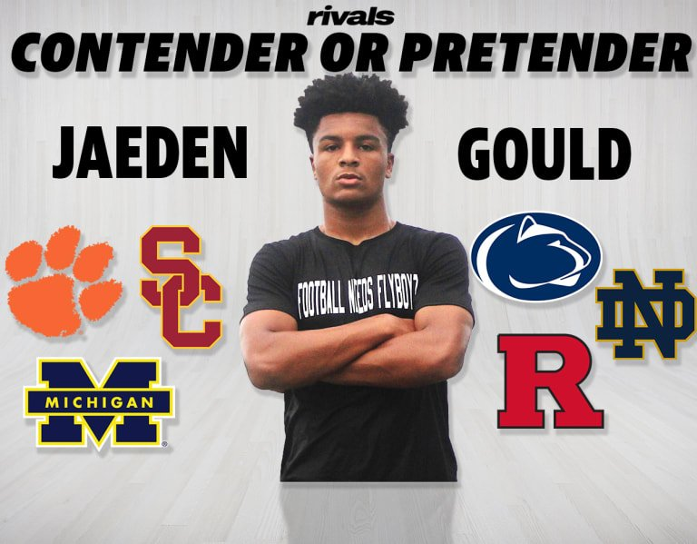 Who are contenders, pretenders for four-star Jaeden Gould?