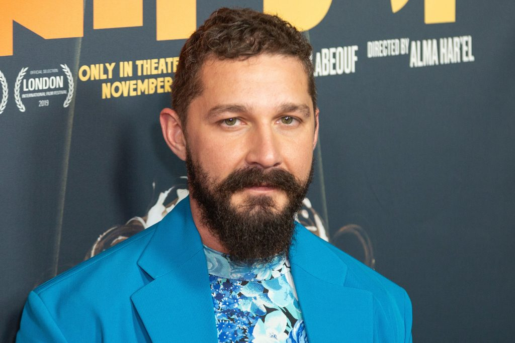 """Shia LaBeouf arrives at the LA Premiere of """"Honey Boy"""" at the ArcLight Hollywood on Tuesday, Nov. 5, 2019, in Los Angeles. (Photo by Willy Sanjuan/Invision/AP)"""