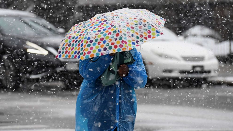 Spring-like weather from Denver to New York City as strong storm hits West with snow