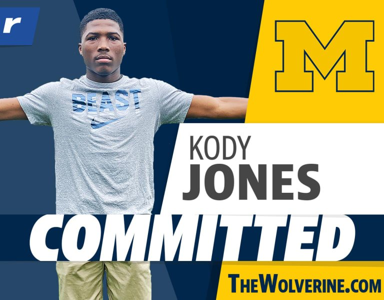 Four-star DB Kody Jones commits to Michigan