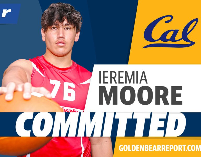Three-star DE Ieremia Moore headed to Cal