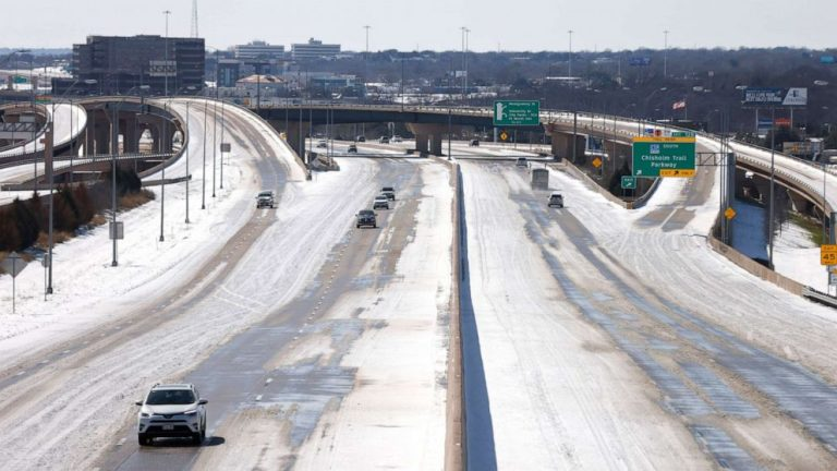 Texas city forced to shut off water due to winter storm