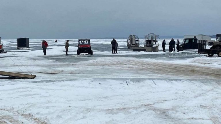 Coast Guard rescues 62 people stranded on ice in Wisconsin