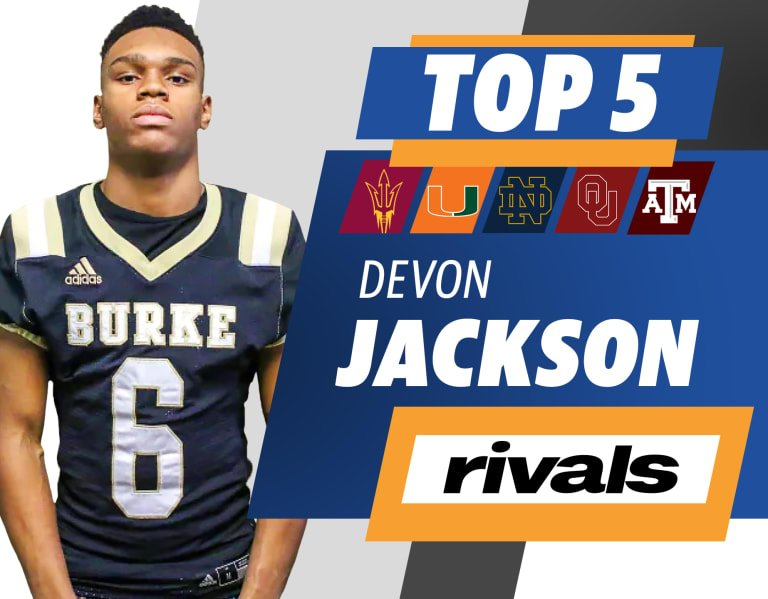 Rivals250 linebacker Devon Jackson reveals his Top 5