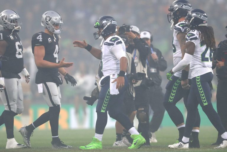 David Carr weirdly alters article suggesting Raiders should trade for Russell Wilson