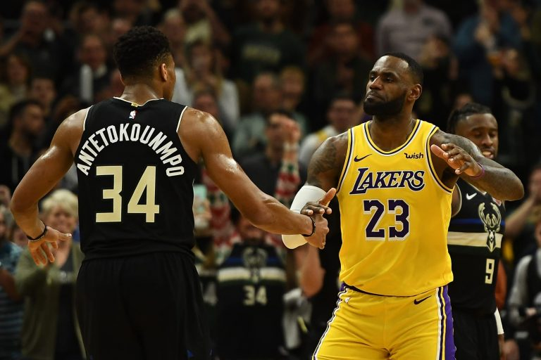 Giannis Antetokounmpo offers some incredibly high praise for LeBron James