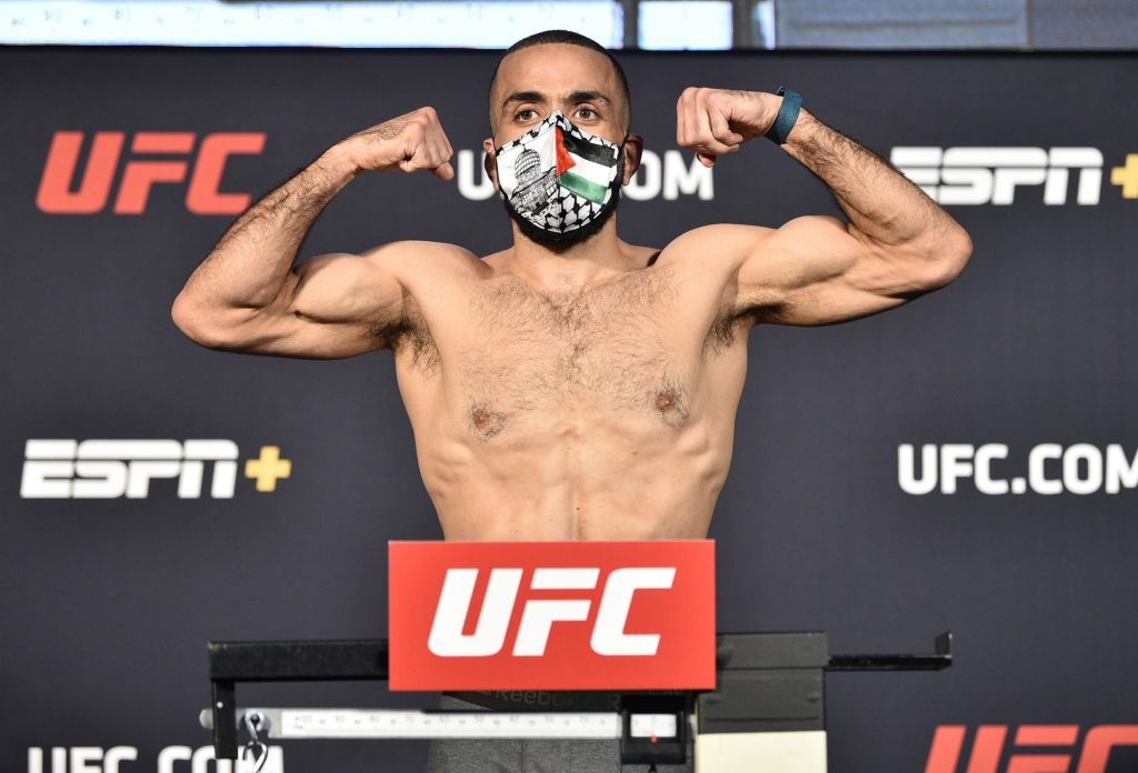 Leon Edwards vs. Belal Muhammad live weigh-in results