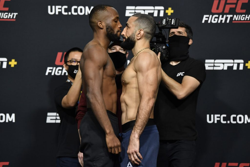 Leon Edwards vs. Belal Muhammad declared no-decision after eye poke (Video)