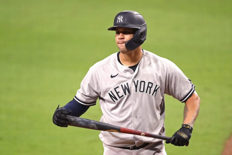 Gary Sanchez has truly horrific at-bat to start spring training (Video)