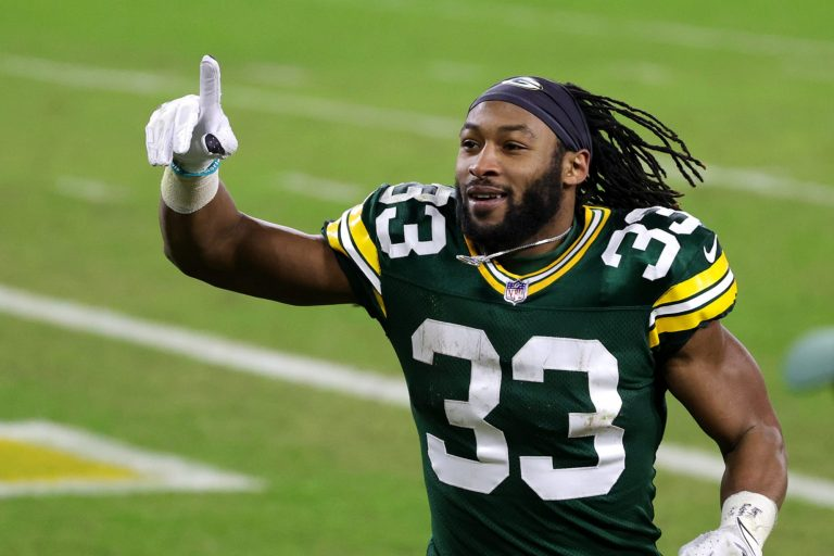 Aaron Jones using new contract to make sizable donations
