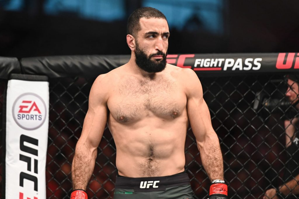 Belal Muhammad reacts to Leon Edwards rematch snub