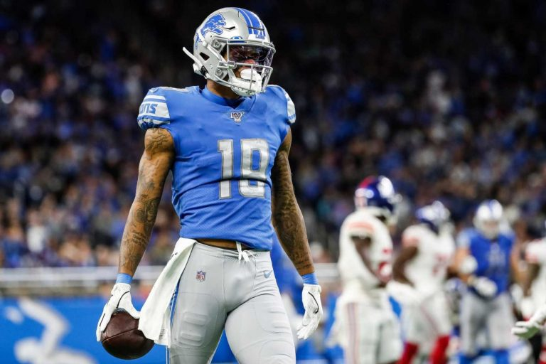 Giants 'optimistic' they'll land top wideout target Kenny Golladay