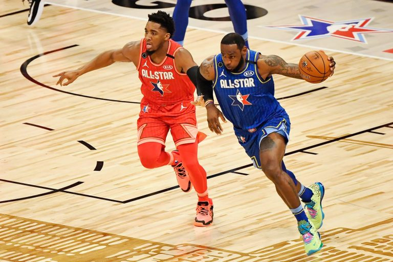 Donovan Mitchell claps back at LeBron James after All-Star Draft