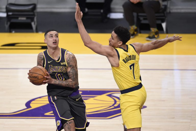 Kyle Kuzma has NSFW comment on LeBron James' late-game dish