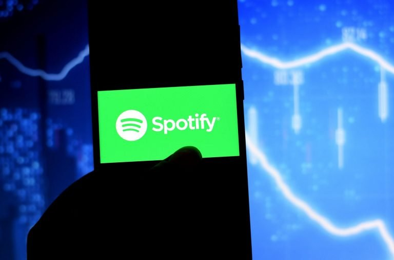 International Creators Gather For 'Justice at Spotify' Protests
