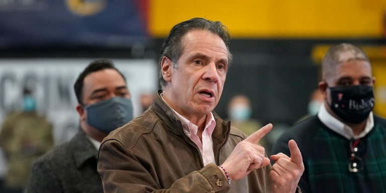 New York State Lawmakers Move to Limit Gov. Andrew Cuomo's Covid-19 Pandemic Powers