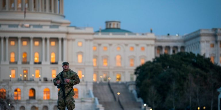 National Guard to Remain at U.S. Capitol Through May 23