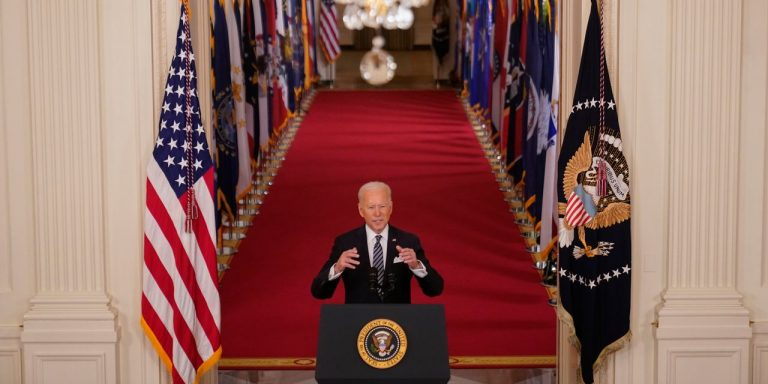 Biden's Prime-Time Speech on the Covid-19 Pandemic—Full Transcript