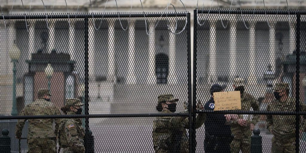 Extended National Guard Contingent Being Drawn from 11 States, D.C.