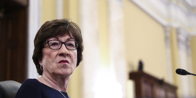 Sen. Susan Collins Sees 'Poor Strategy' in White House Rebuffing GOP