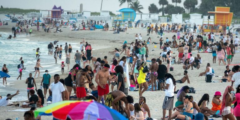 Miami Beach Declares State of Emergency to Reduce Spring Break Crowds