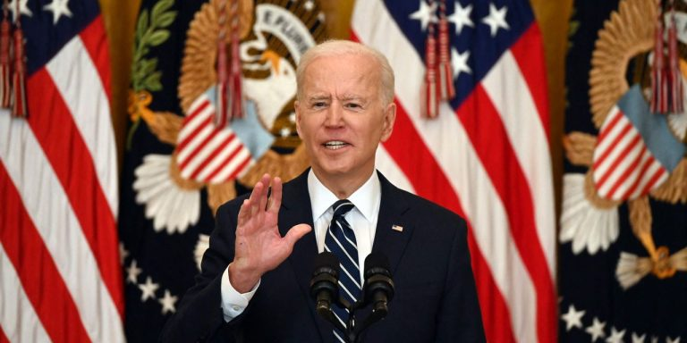 Biden Plans to Split Spending Plan in Two