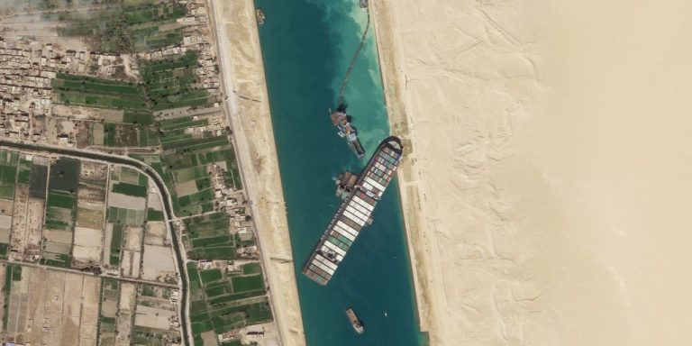 Ship Blocking Suez Canal Is Partially Freed