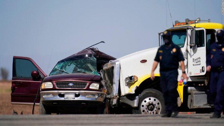 California crash: At least a dozen people were killed in horrific accident. Here's what we know