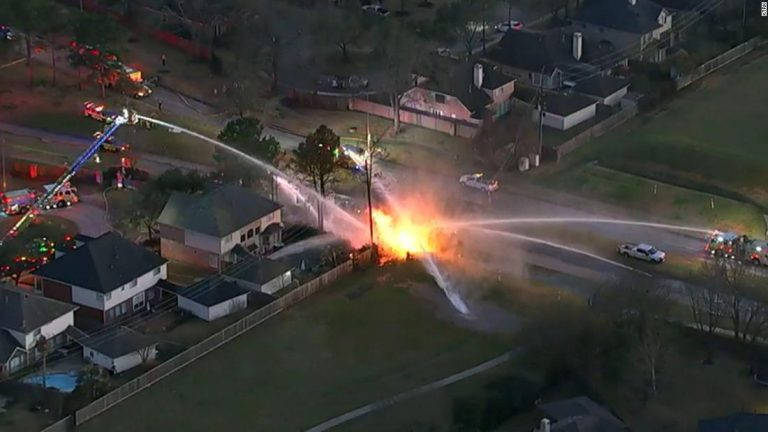 Spring, Texas: At least 6 CenterPoint Energy employees hospitalized after a natural gas explosion and fire