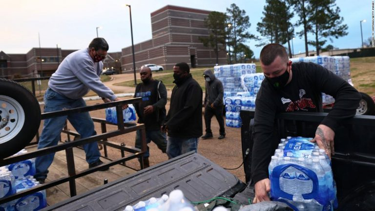 Jackson, Mississippi, officials report progress in restoring water after last month's winter storms