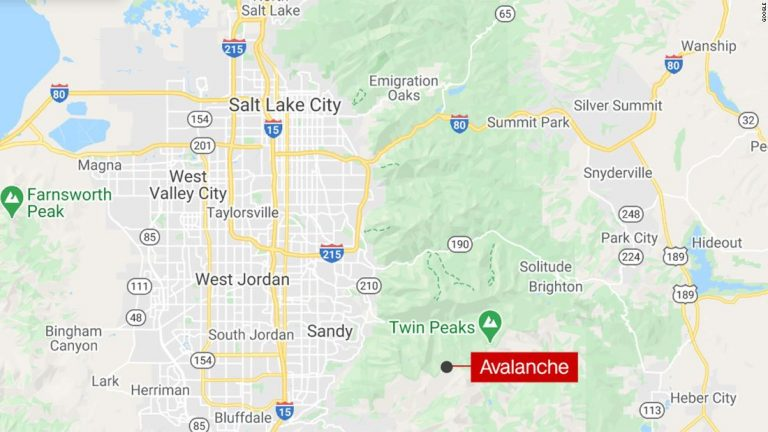 Utah avalanche: Two people injured in Little Cottonwood Canyon