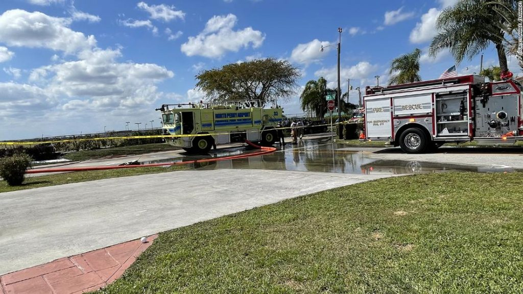 Florida plane crash: Two dead and two seriously injured after crash near North Perry airport