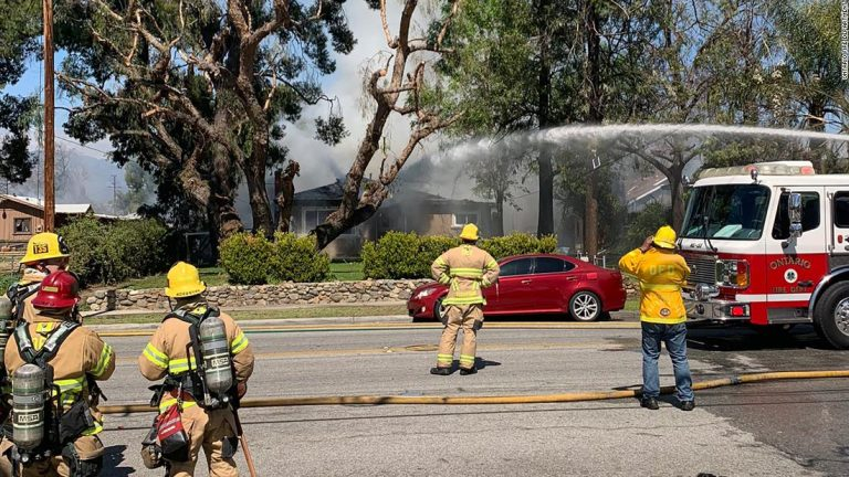 Ontario explosion: 2 dead after fireworks blast Southern California home